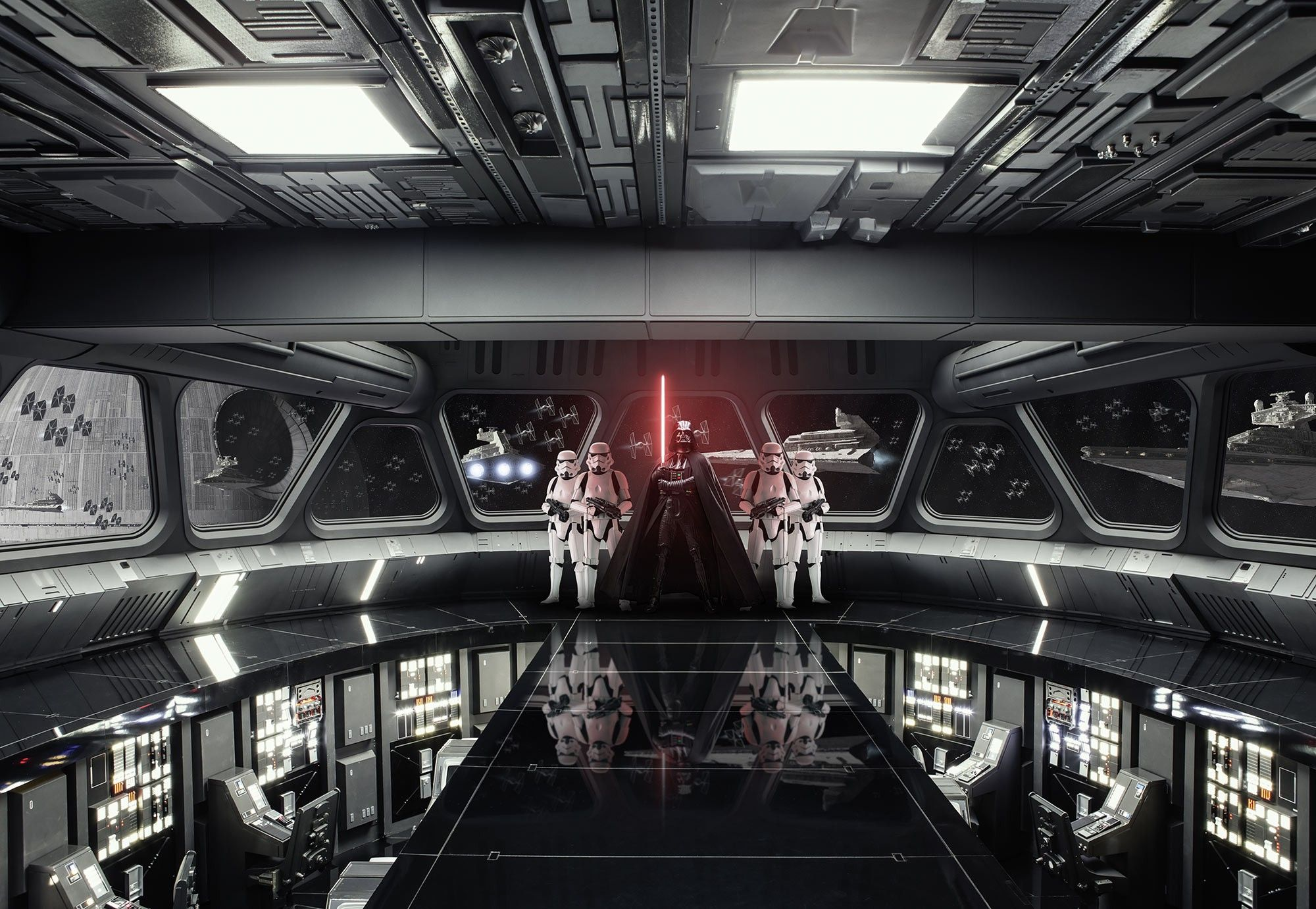 Star Wars Destroyer Deck Wall Mural Wallpaper Buy It Now